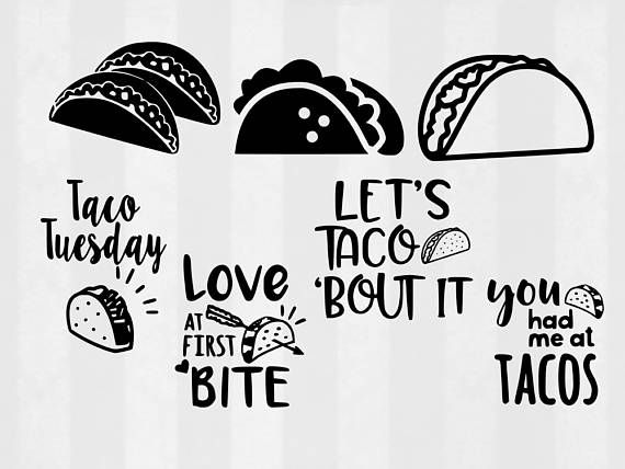 taco svg #922, Download drawings