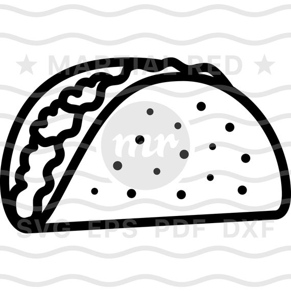 taco svg #928, Download drawings
