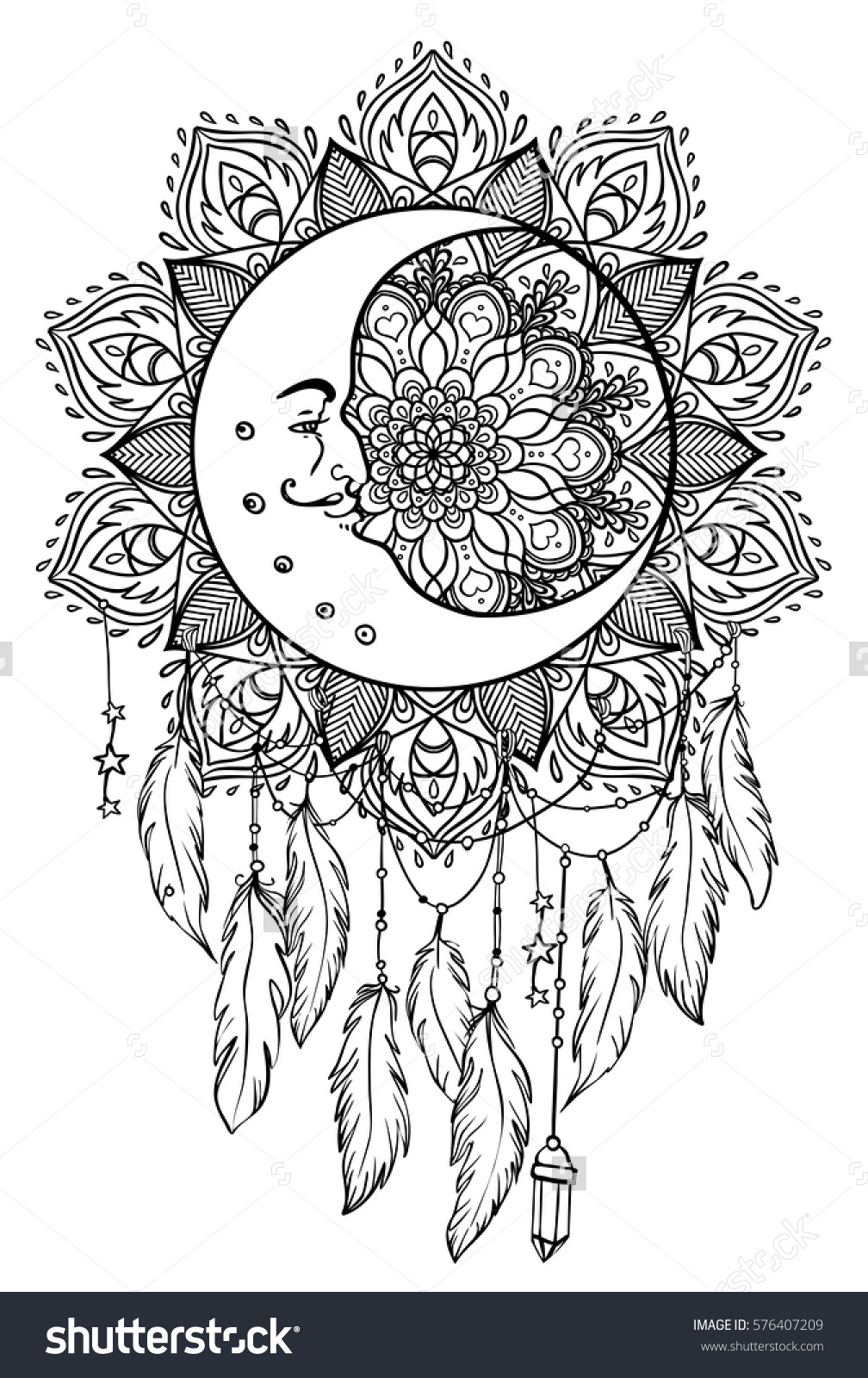 Talisman coloring #14, Download drawings