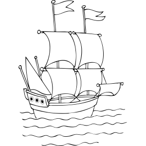 Tall Ship coloring #16, Download drawings