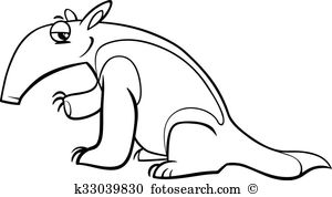 Tamandua clipart #9, Download drawings
