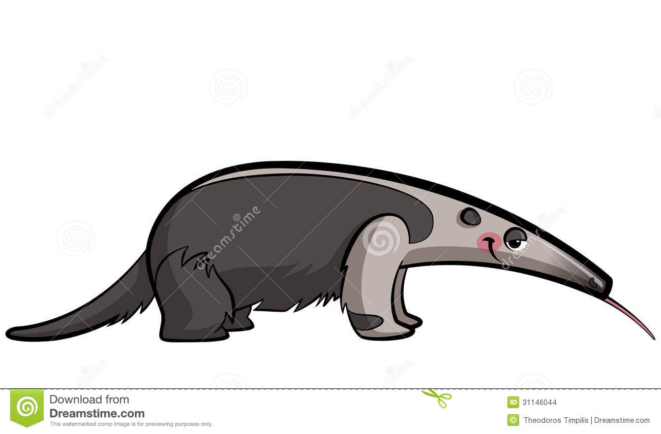 Tamandua clipart #10, Download drawings