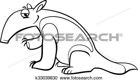 Tamandua clipart #13, Download drawings
