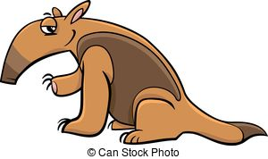 Tamandua clipart #1, Download drawings