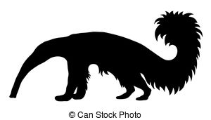 Tamandua clipart #3, Download drawings