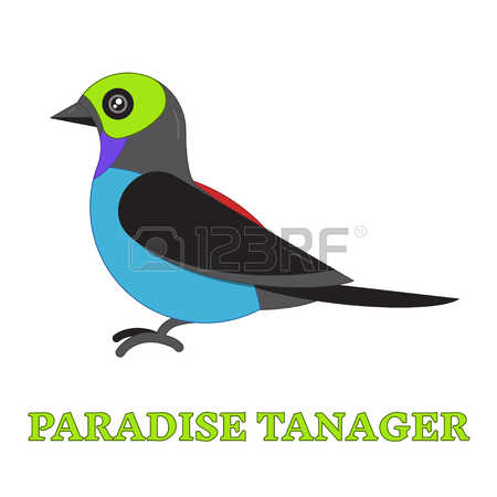 Tanager clipart #7, Download drawings