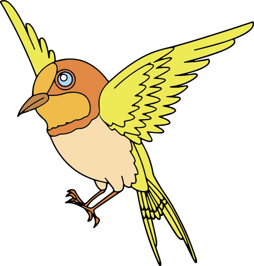 Tanager svg #1, Download drawings