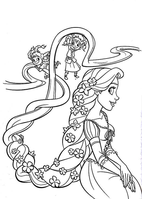 Tangled coloring #3, Download drawings