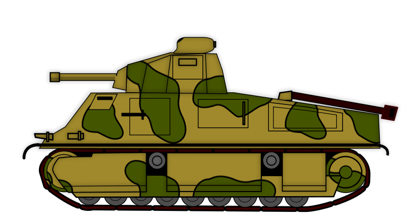 Tank clipart #2, Download drawings