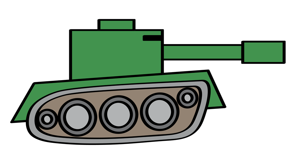 Tank clipart #12, Download drawings