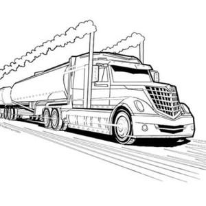 Tanker coloring #10, Download drawings