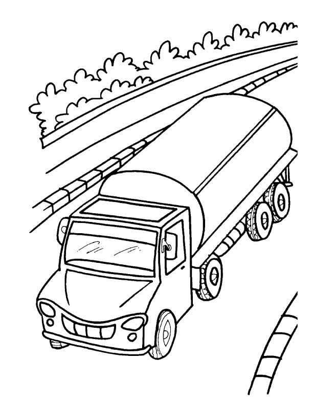Tanker coloring #4, Download drawings