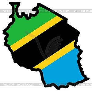 Tanzania clipart #1, Download drawings