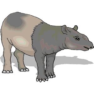 Tapir svg #4, Download drawings