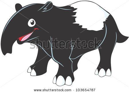 Tapir svg #15, Download drawings