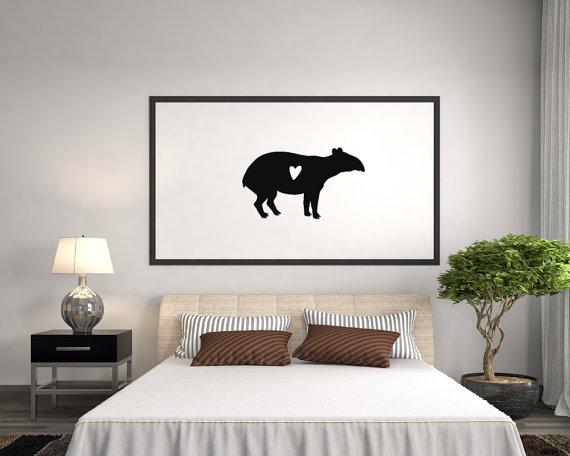 Tapir svg #5, Download drawings