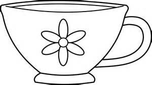 Tea Cup coloring #9, Download drawings