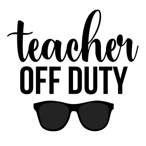 teacher off duty svg #911, Download drawings