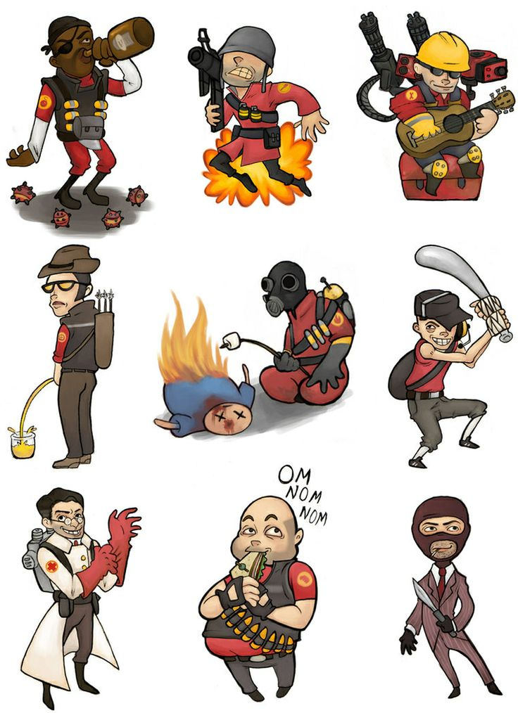 Team Fortress 2 clipart #6, Download drawings