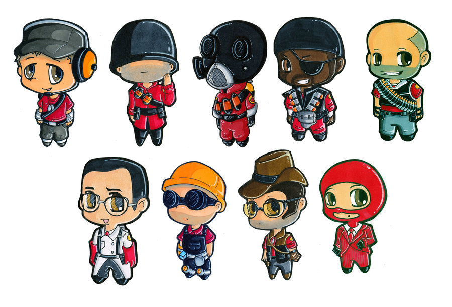 Team Fortress 2 clipart #14, Download drawings