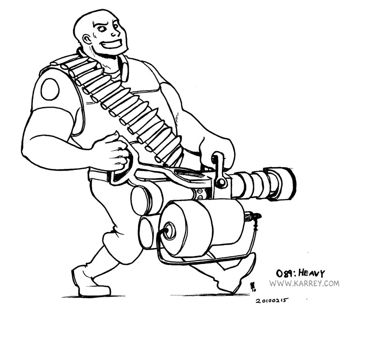Team Fortress 2 coloring #7, Download drawings