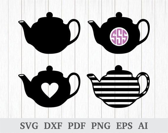 teapot svg #584, Download drawings
