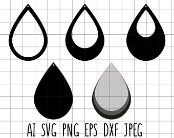 teardrop svg #705, Download drawings