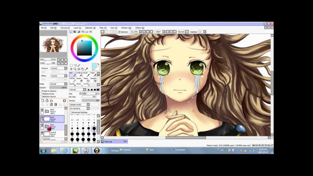 Tears coloring #13, Download drawings