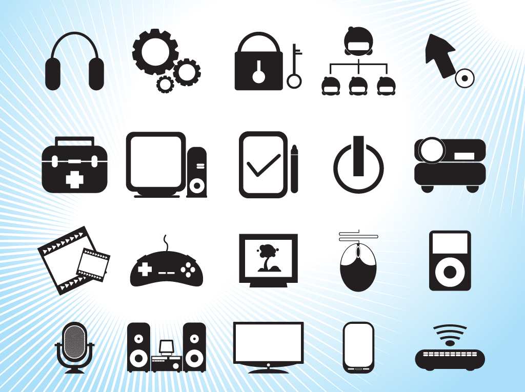Technology clipart #2, Download drawings