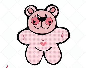 Teddy Bear svg #1, Download drawings