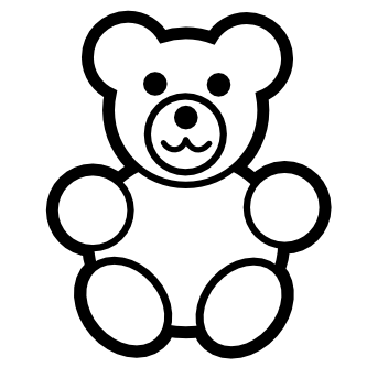 Teddy Bear svg #4, Download drawings