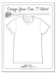 Tee coloring #15, Download drawings