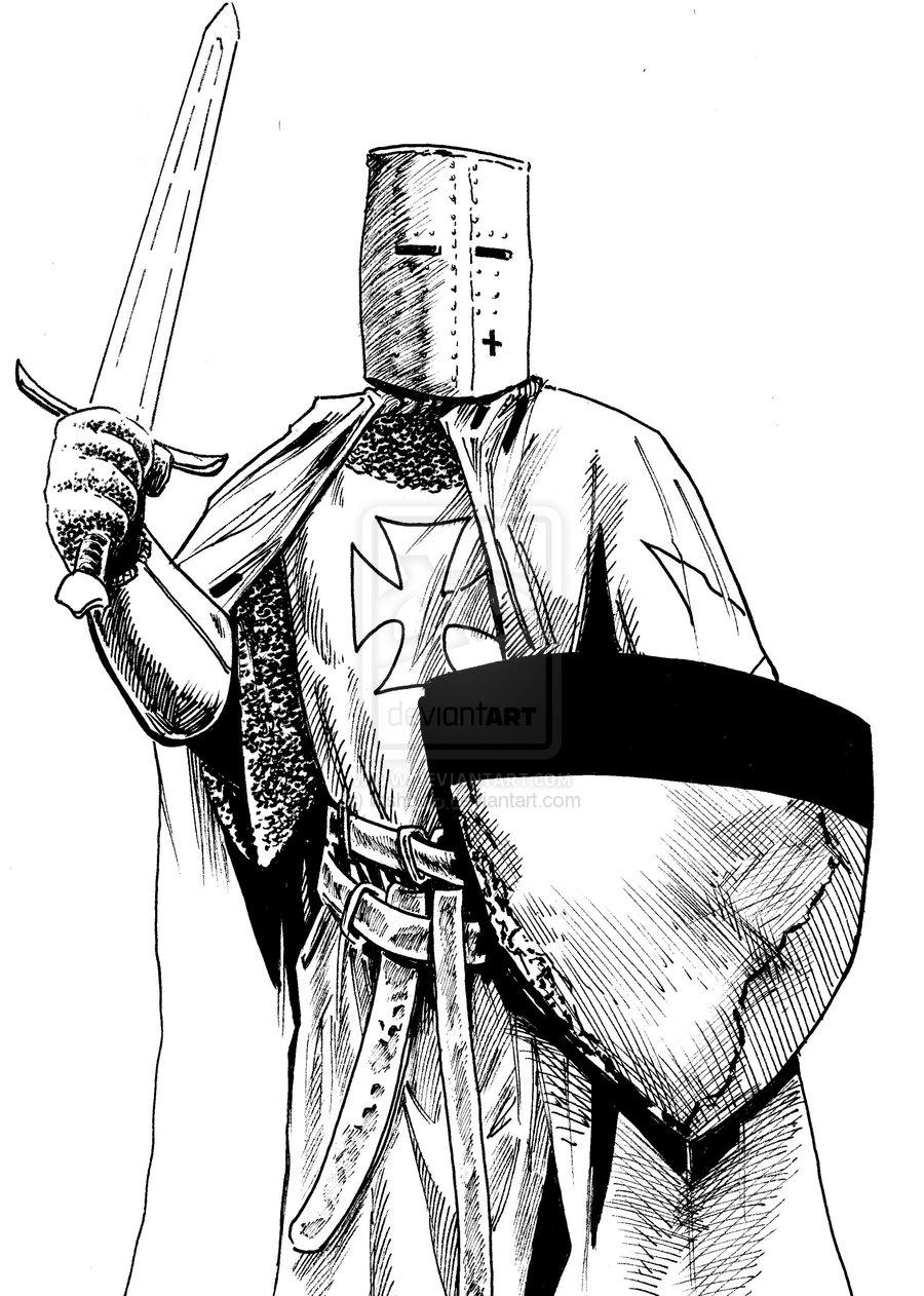 Templar coloring #16, Download drawings