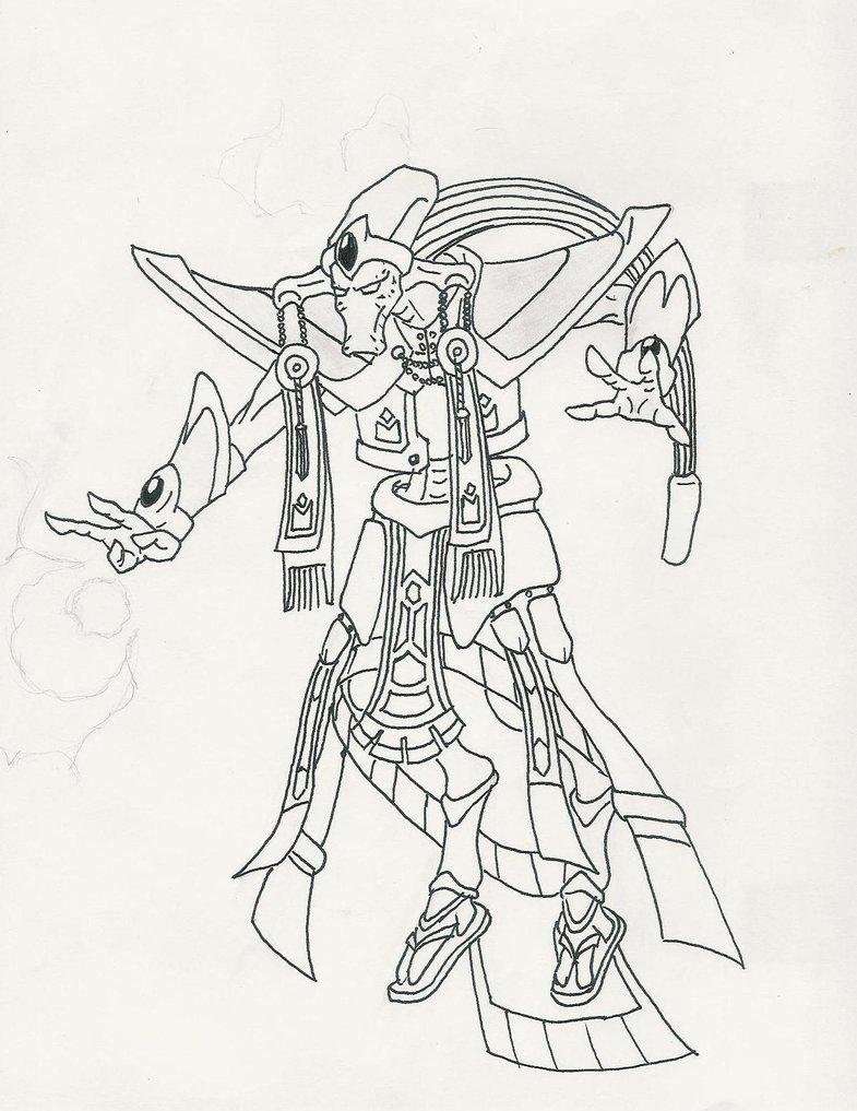 Templar coloring #13, Download drawings