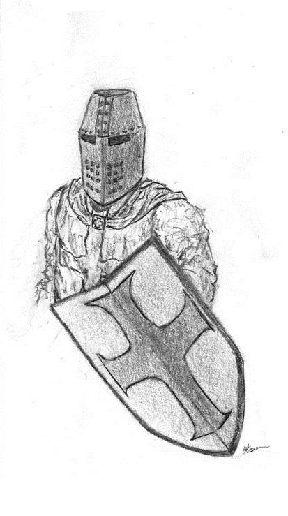 Templar coloring #12, Download drawings