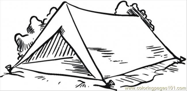 Tent coloring #18, Download drawings
