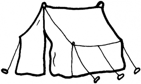 Tent coloring #7, Download drawings