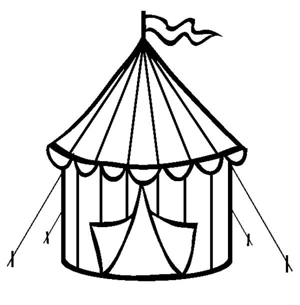 Tent coloring #2, Download drawings