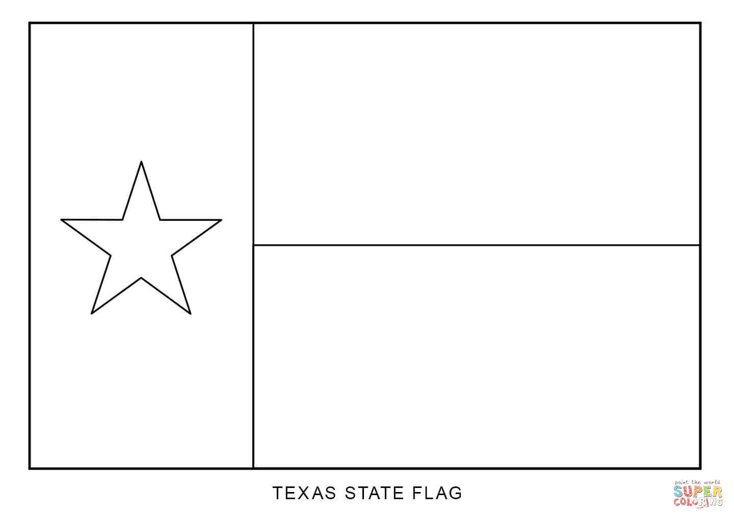 Texas coloring #4, Download drawings
