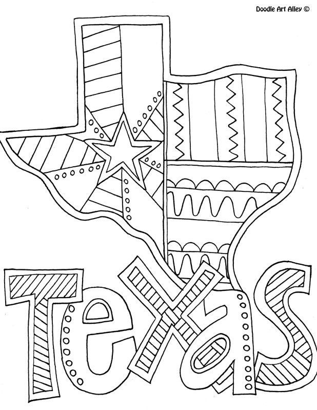 Texas coloring #12, Download drawings