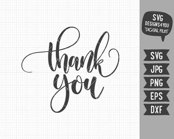 thank you svg #858, Download drawings