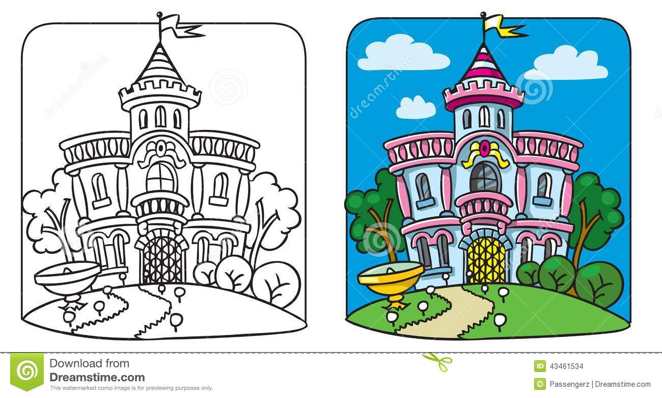 The Autumn Palace coloring #9, Download drawings