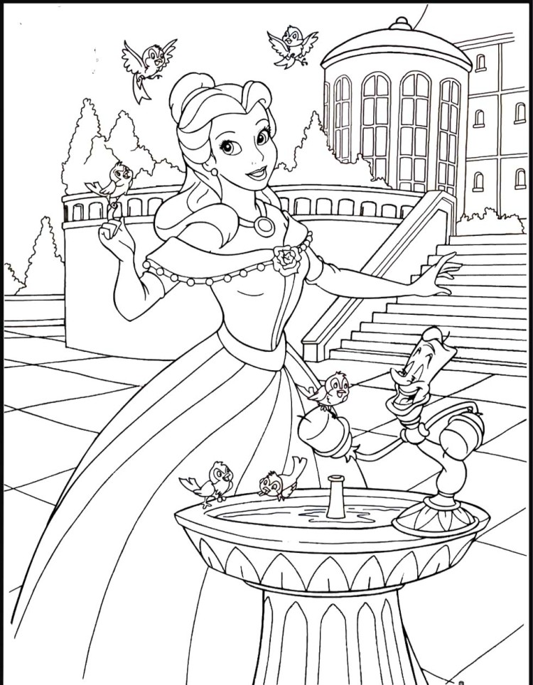The Autumn Palace coloring #15, Download drawings