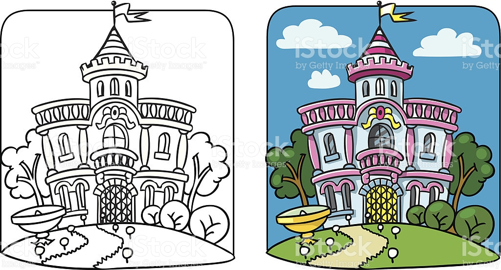 The Autumn Palace coloring #5, Download drawings