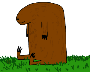 The Diprotodon clipart #9, Download drawings