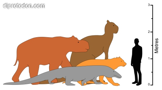 The Diprotodon clipart #17, Download drawings