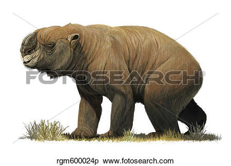 The Diprotodon clipart #18, Download drawings