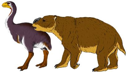 The Diprotodon clipart #8, Download drawings