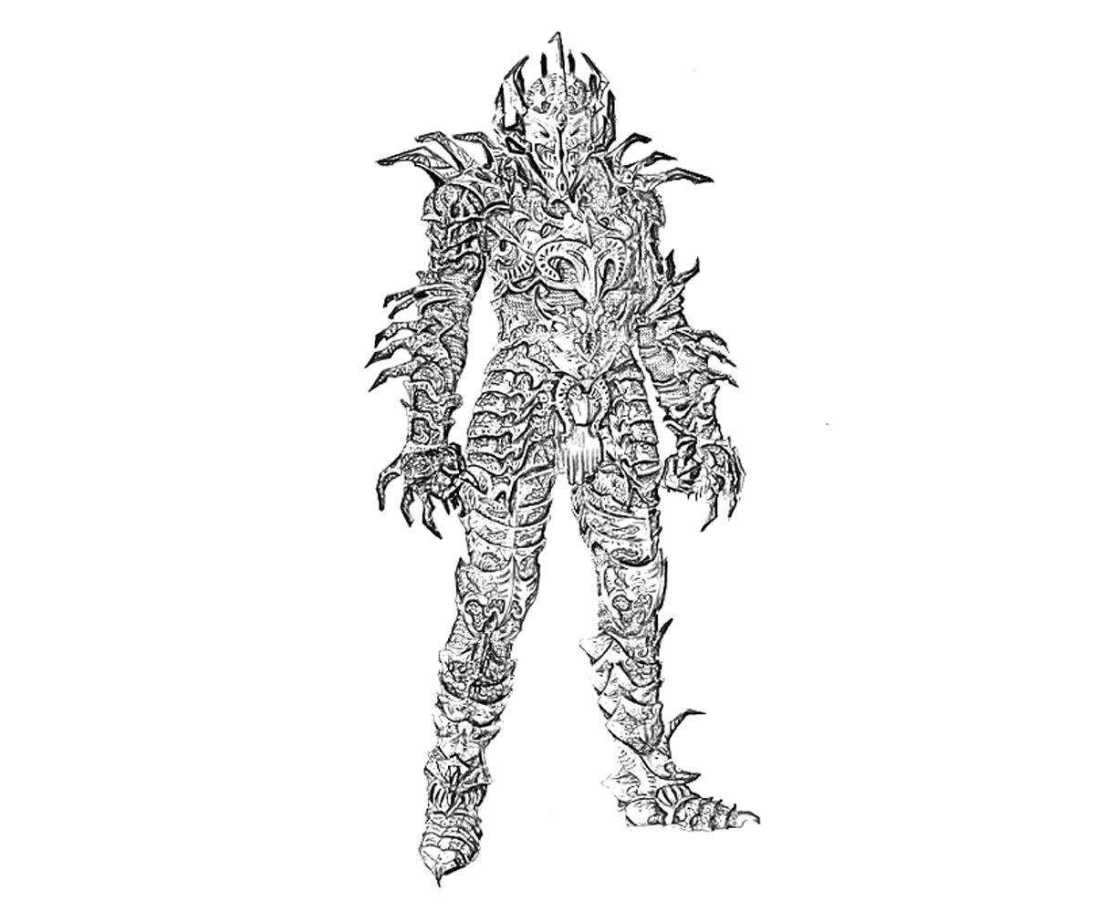 The Elder Scrolls coloring #14, Download drawings