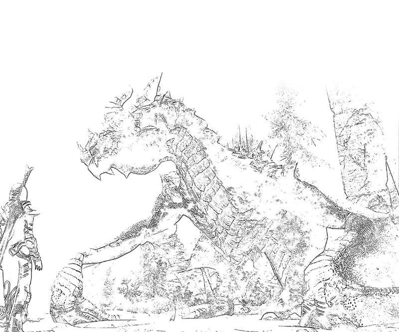 The Elder Scrolls coloring #8, Download drawings